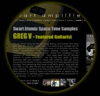 Hear the Swart AST in the hands of consumate guitaris, Greg V - 25  mp3 samples